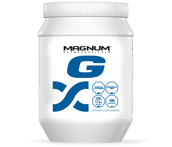 Magnum G - Magnum G is a powerful high-grade version of the amino acid l-glutamine. This advanced version assures maximum absorption and systematic assimilation.• Support building and repairing lean muscle• Clearing lactic acid and to help improve blood and nutrient flow• Support immune system function