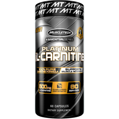 MuscleTech L-Carnitine - • Supports muscle recovery• Non-stimulantL-carnitine is an amino acid metabolite that is involved in many biological processes with the body including cellular energy production. L-carnitine has been shown to promote recovery following resistance exercise by minimizing muscle damage. In fact, in recent clinical research at a leading university, subjects supplementing with just 1g of L-carnitine L-tartrate experienced improved muscle recovery post-training.