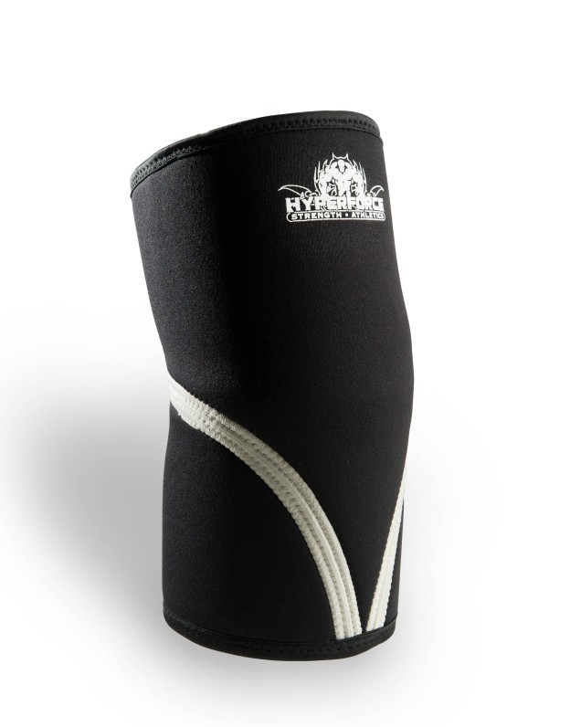 HyperForce Knee Sleeves - Available in: S, M, L, XL, XXLMade from 100% neoprene, HyperForce knee support provides consistent compression and four way stretch for a secure tight fit and comfort. Neoprene retains the body's natural heat to provide warmth to joints and muscles.