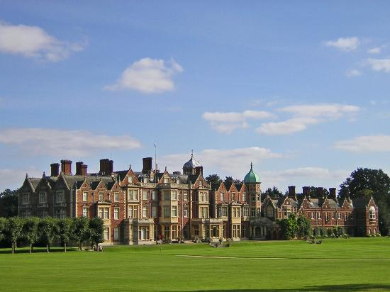 Sandringham - Sandringham is the Queen's much-loved country retreat. The house, set in 24 hectares of stunning gardens, is perhaps the most famous stately home in Norfolk and is at the heart of the 8,000-hectare Sandringham Estate, 240 hectares of which make up the woodland and heath of the Country Park, open to the public free of charge every day of the year.