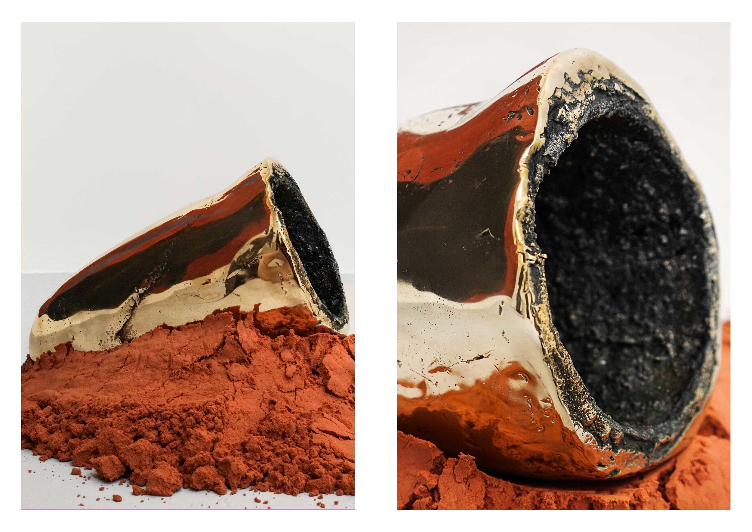 Detail - Bronze Crucible (Waiting for Your Awakening)
