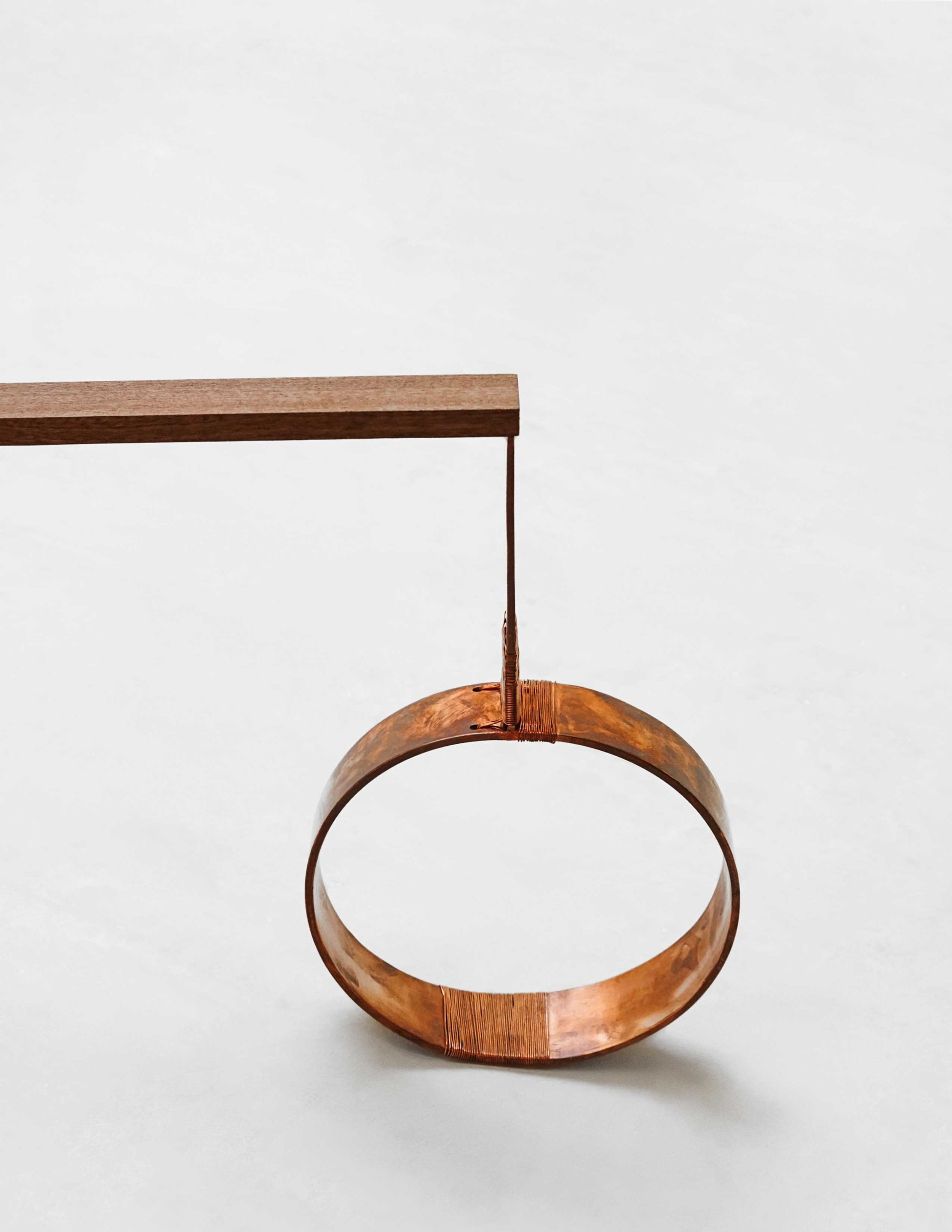 Detail - Copper Shank + Weighting Bowl