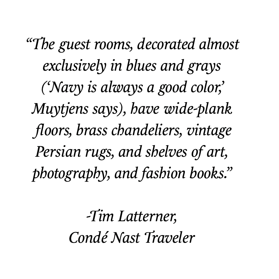 Click here for the Conde Nast Traveler article