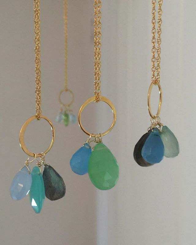 New necklaces for Springtime