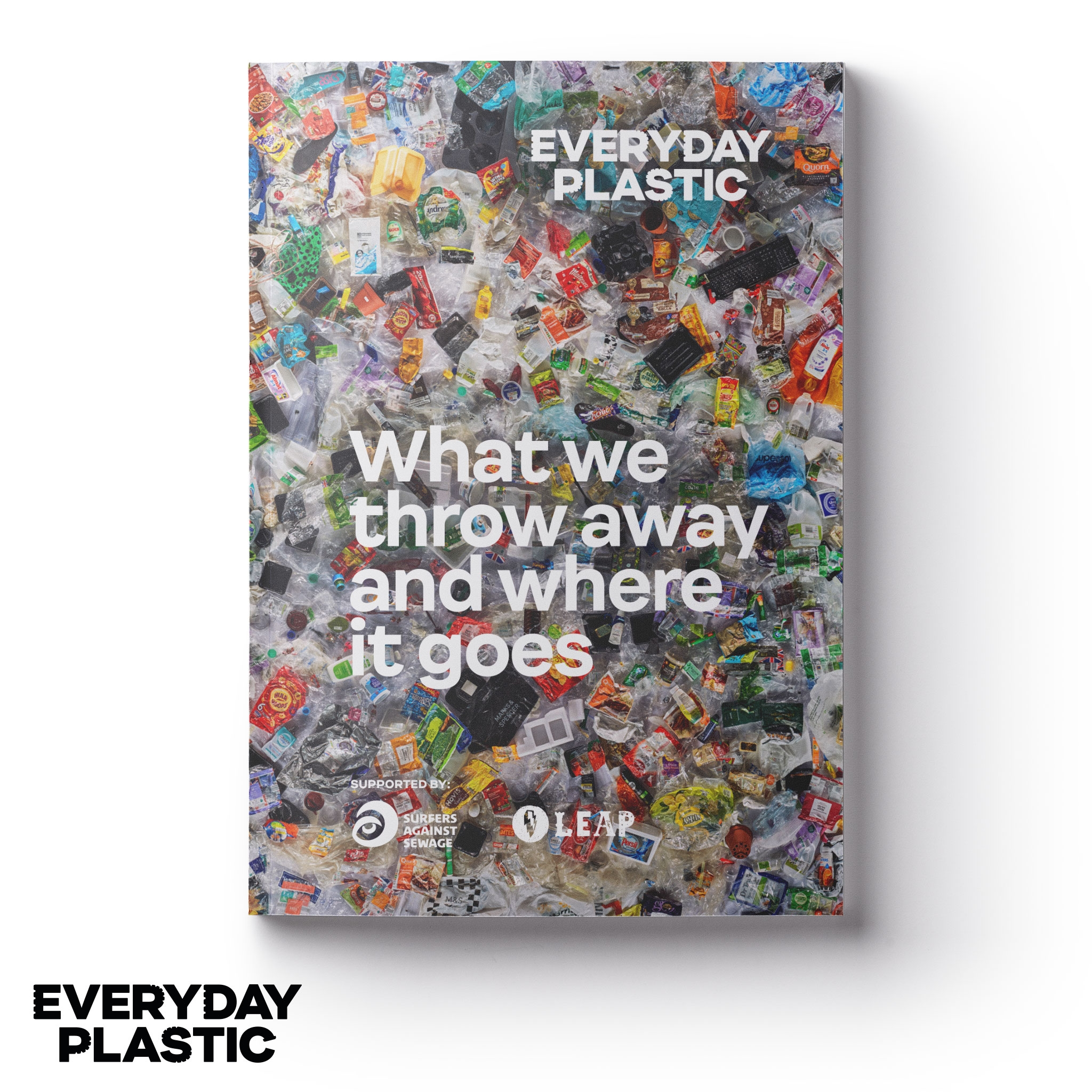 What we throw away and where it goes - This new report endorsed by a major environmental organisation estimates that the UK population throws away over 295 BILLION pieces of plastic every year.In a unique personal experiment, Daniel Webb decided to store all the plastic waste he threw in the bin for 12 months. Shortly after moving to Margate on the Kent coast in 2016, he quickly learned that he was not provided with a recycling service at his flat.Motivated by plastic pollution and wanting to dig deeper into murky national recycling figures, he launched a personal investigation to understand exactly what he throws away and where it ends up.