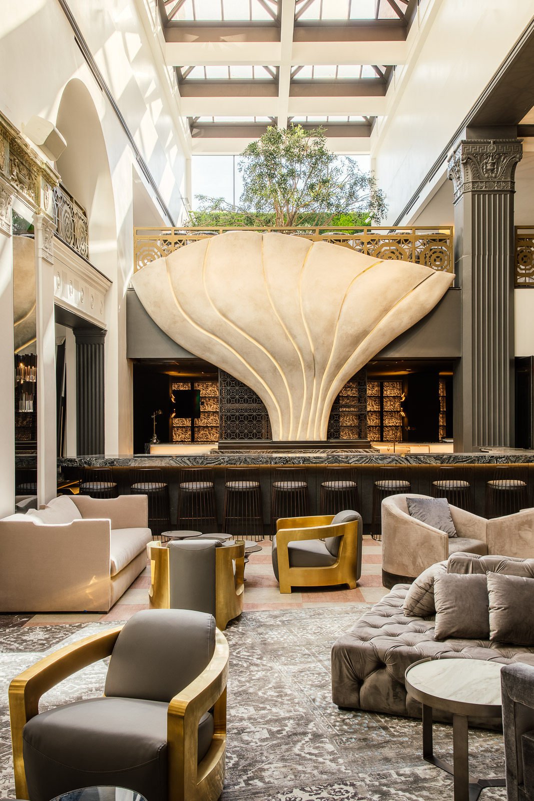 Mayfair Hotel + Architectural Digest -