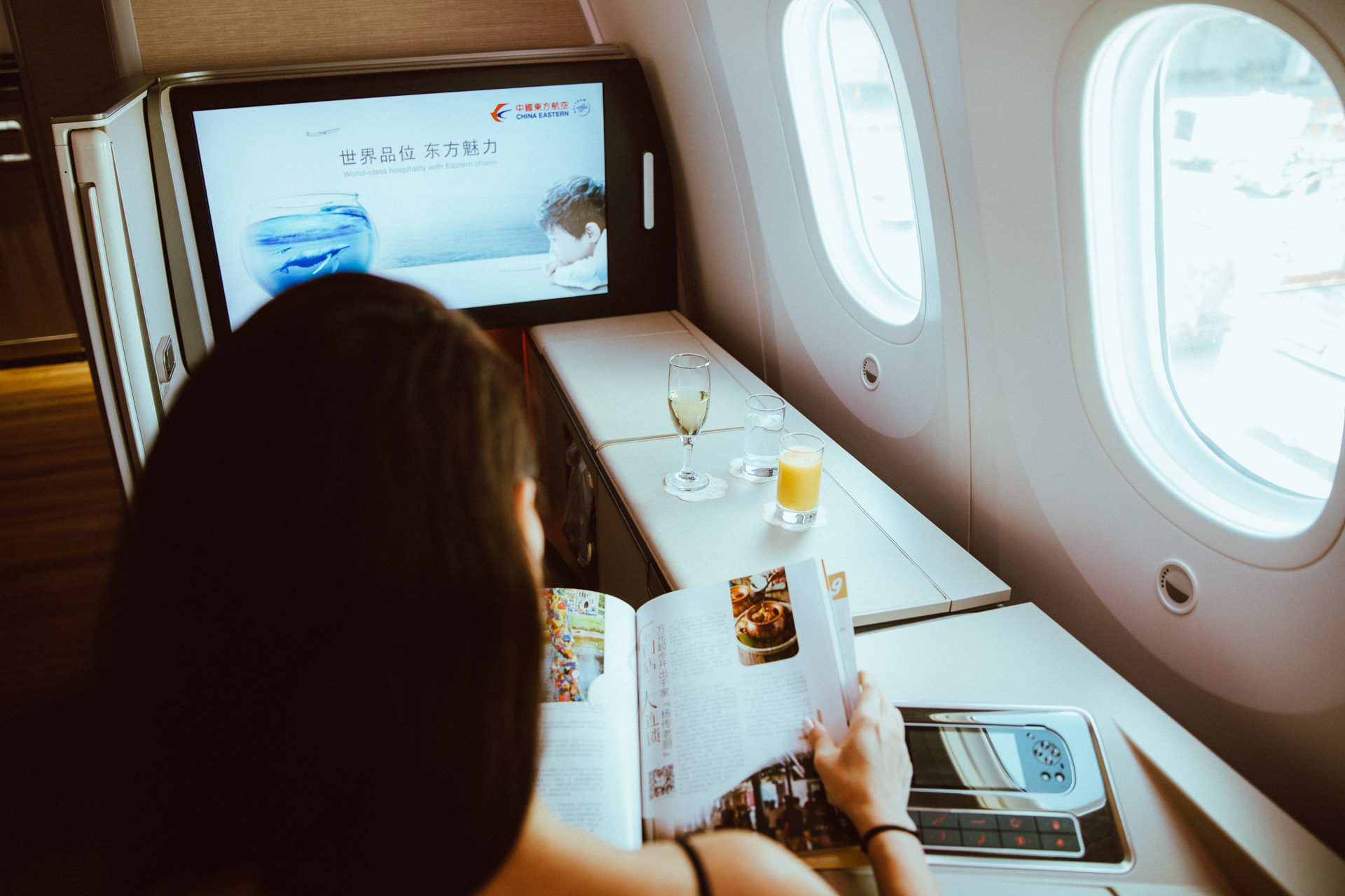 Singapore - commissioned for China Eastern airlines