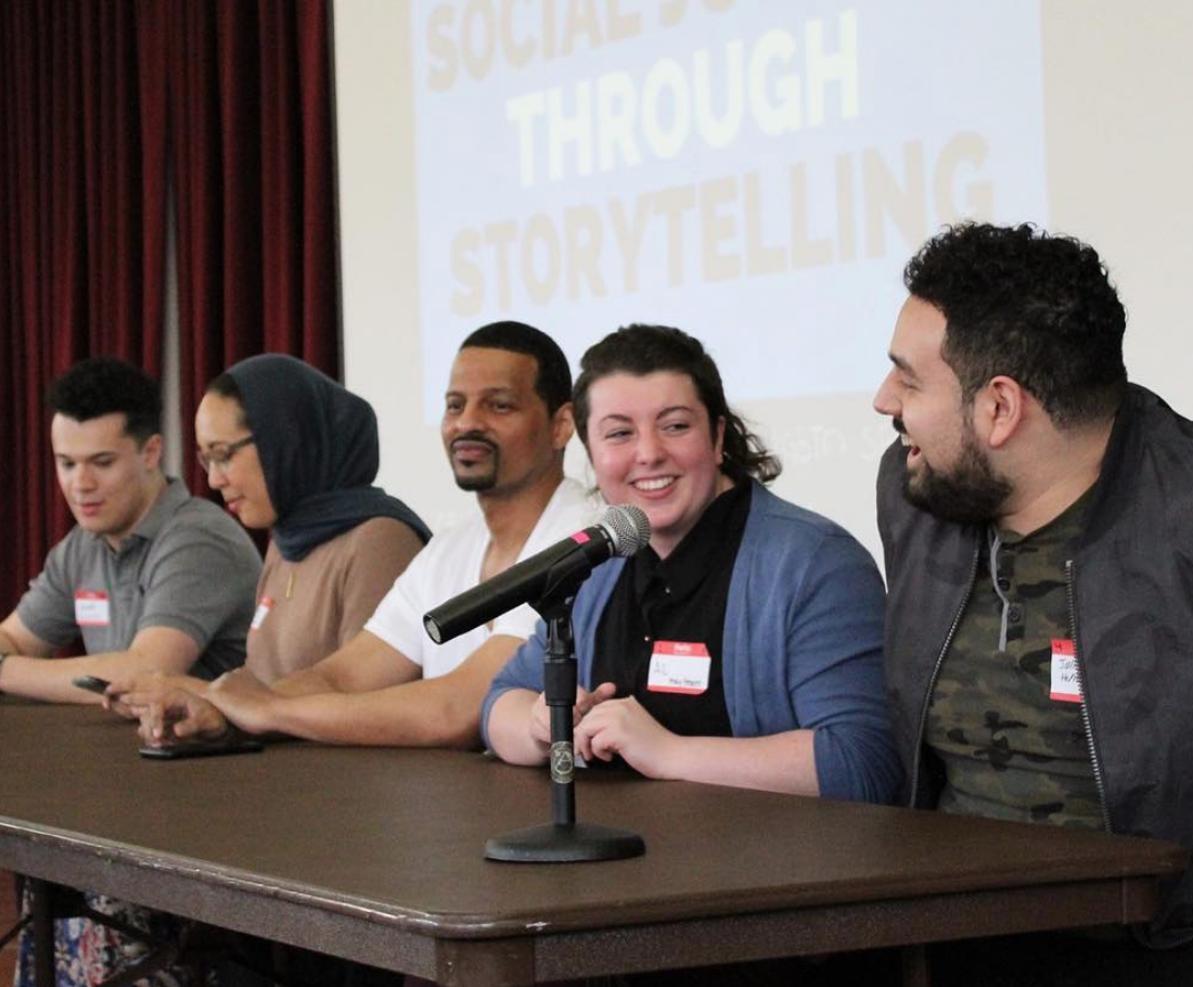 ROC CMU organized a  Social Justice through Storytelling  panel discussion in collaboration with numerous student organizations to discuss the process of othering and how to stand in solidarity with marginalized peoples.