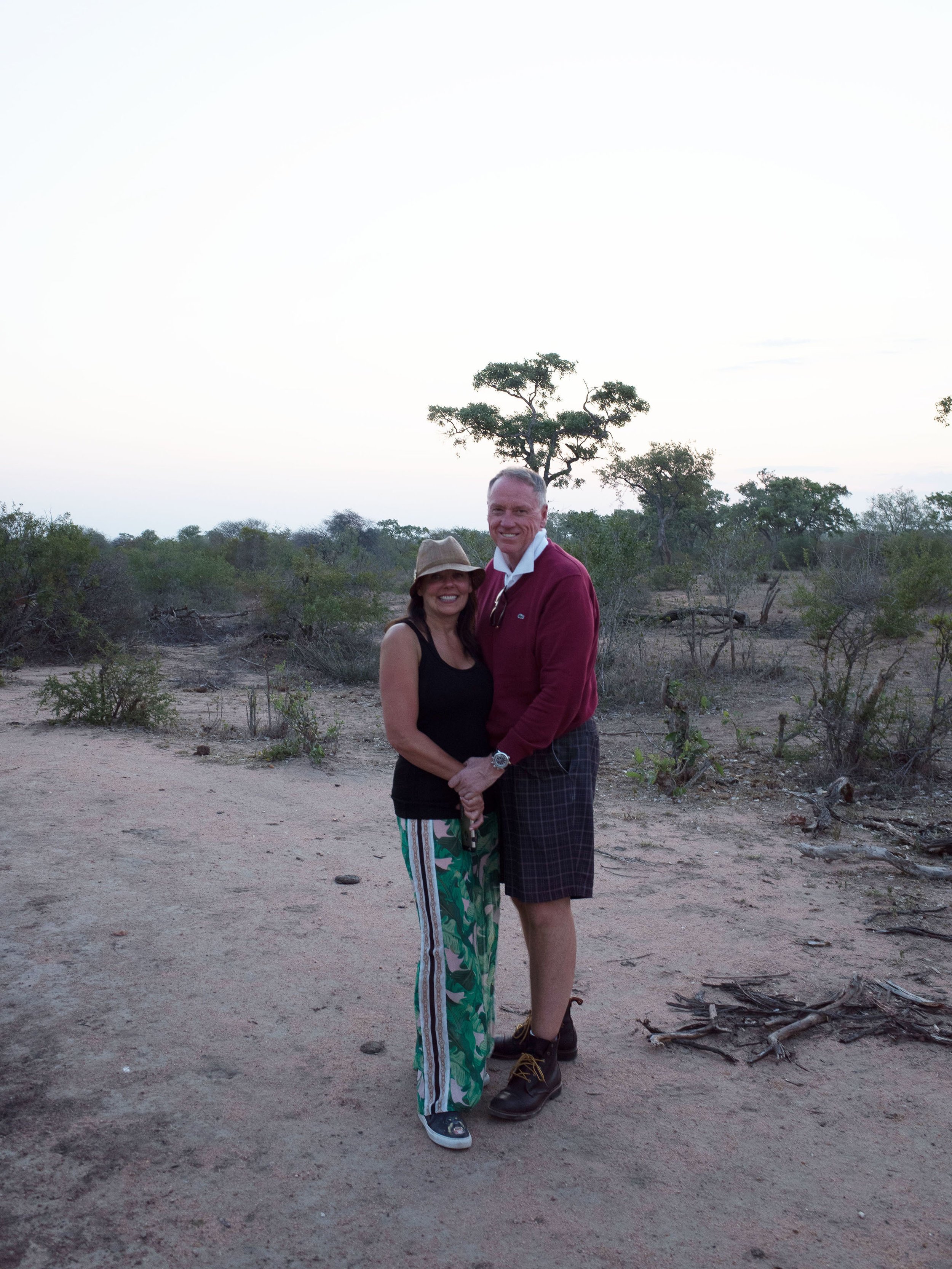 Donna and Kim Yost at Tanda Tula in Kruger