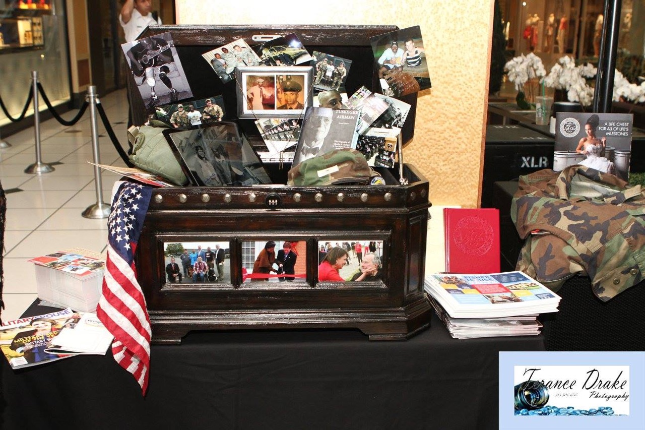 The Freedom Life Chest on Display at The Life Chest™ and Louis Vuitton Event