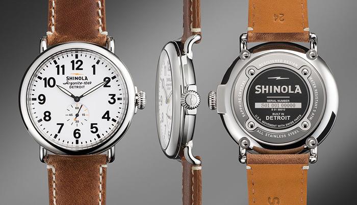 Shinola Watches Made in Detroit Michigan
