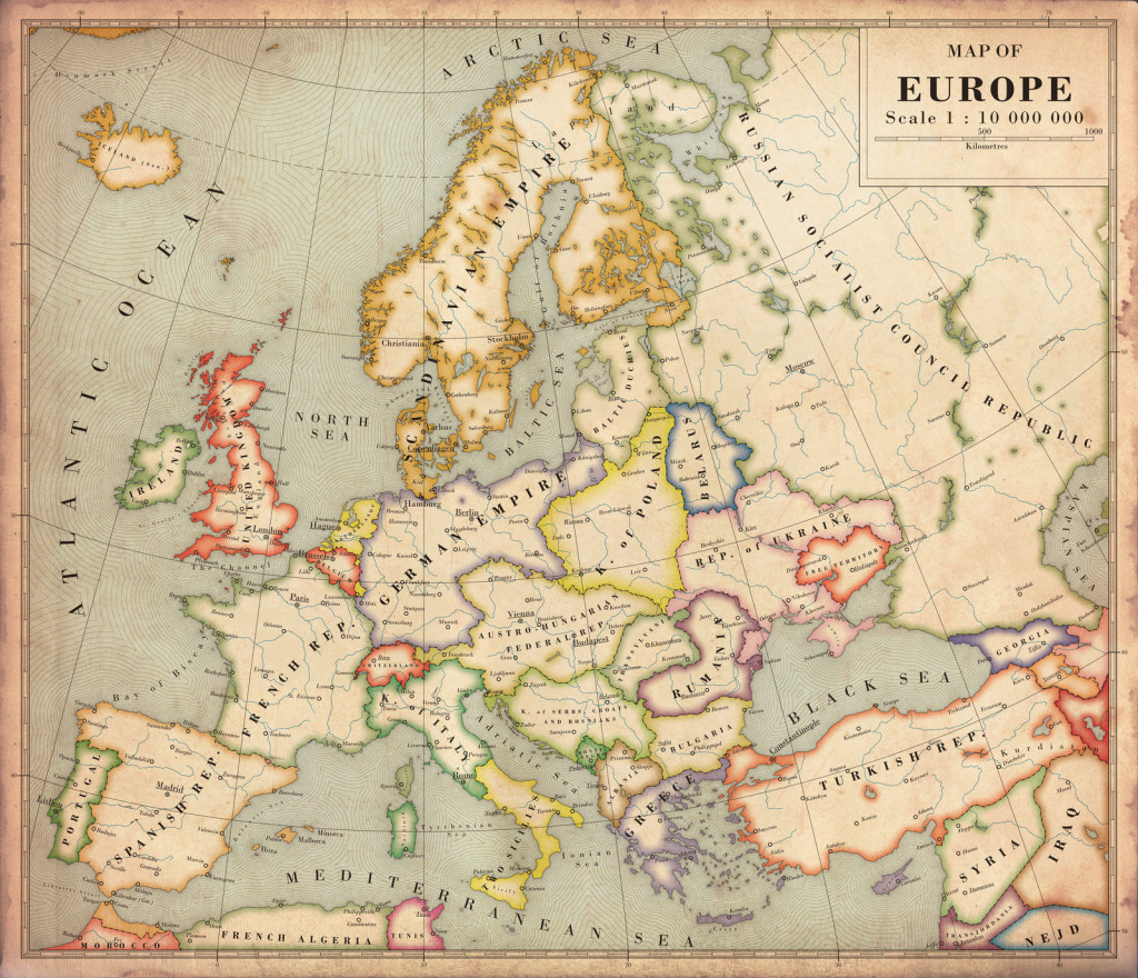 Alternate History Map Of Europe 68 Day Challenge
