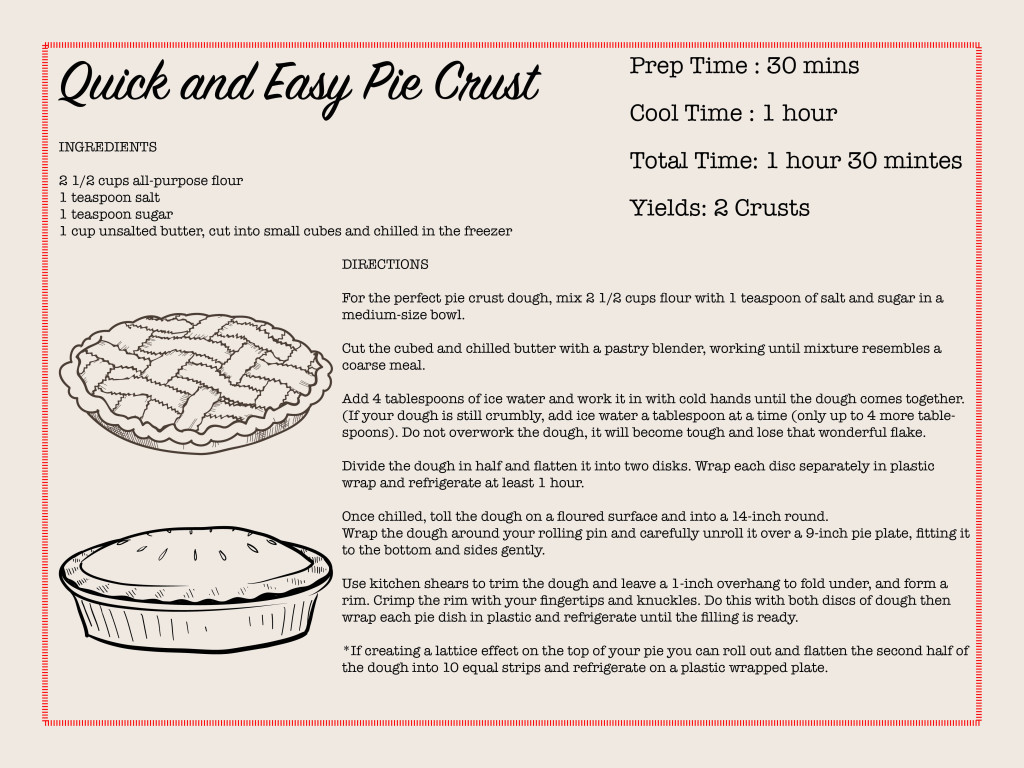 Quick and Easy Pie Crust