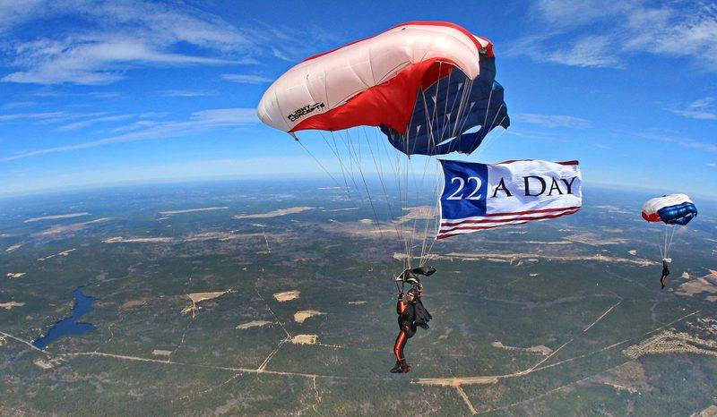 22 a Day – An Image from Combat Injured Troops