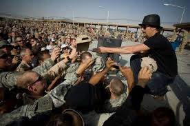 Kid Rock with USO