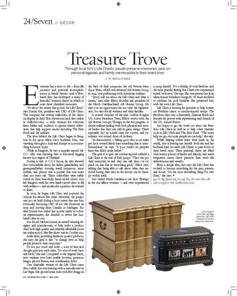 Hour Detroit Article
