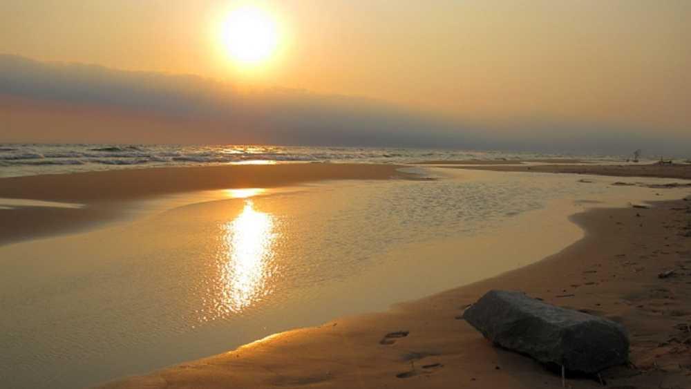 ludington beach