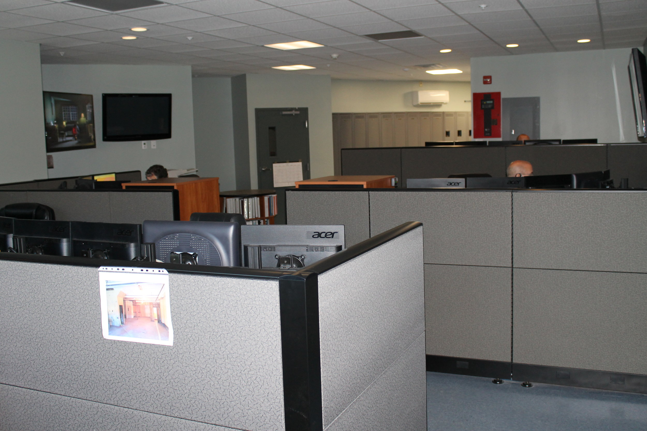Overview of dispatch center