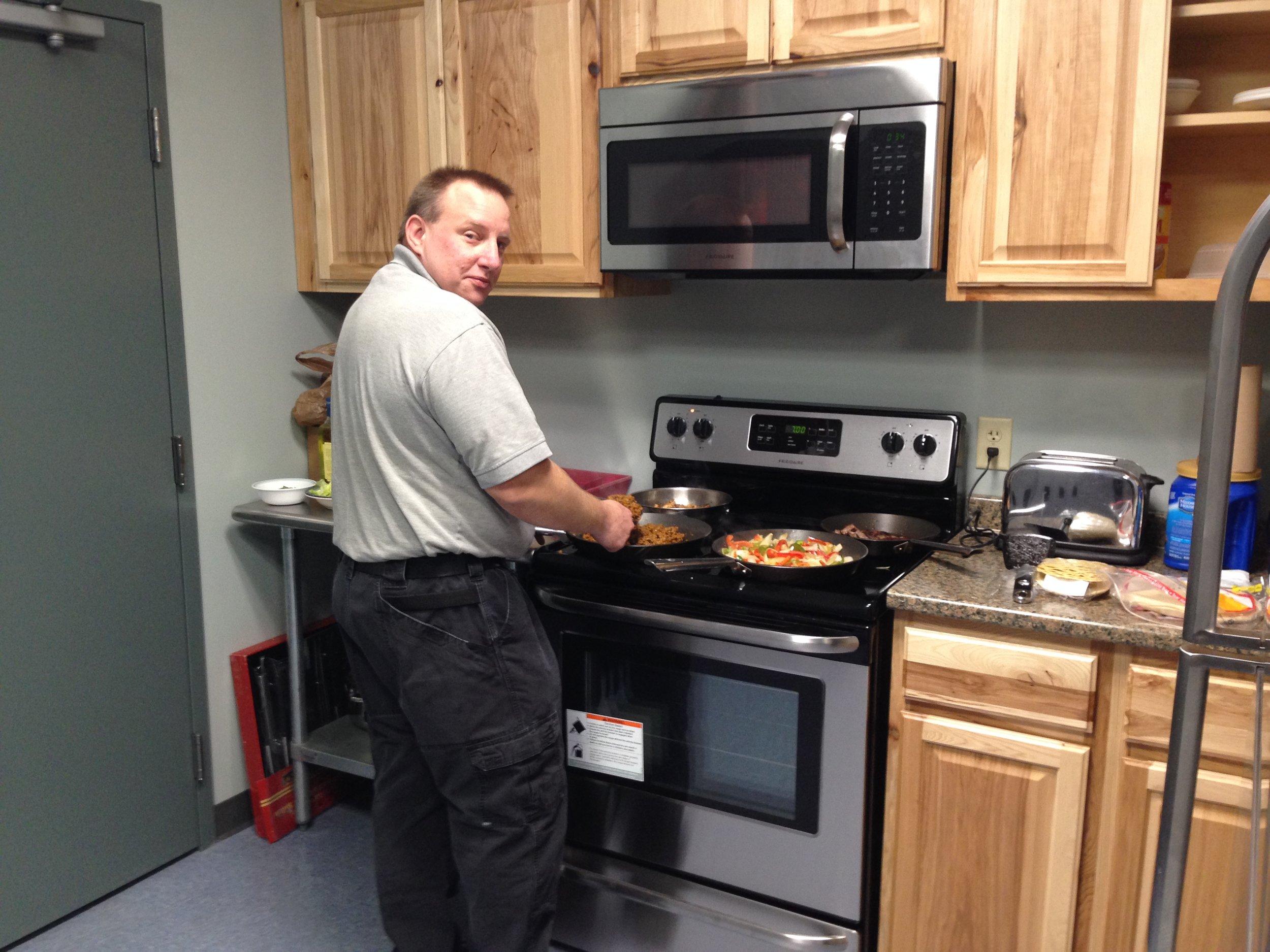 """Our In House Chef"" Dispatcher Erik Kazlouskas"