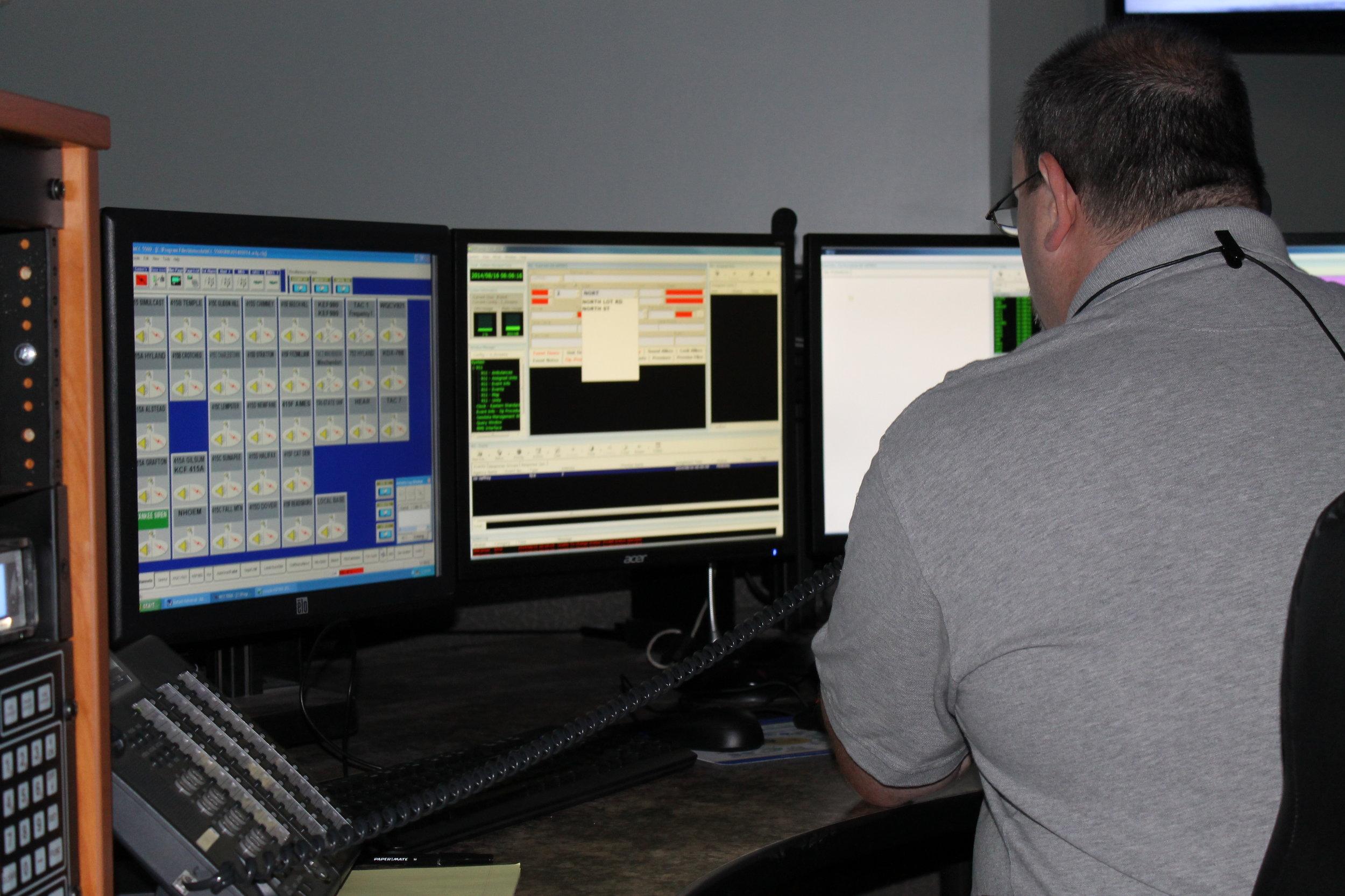 Dispatcher Jay French