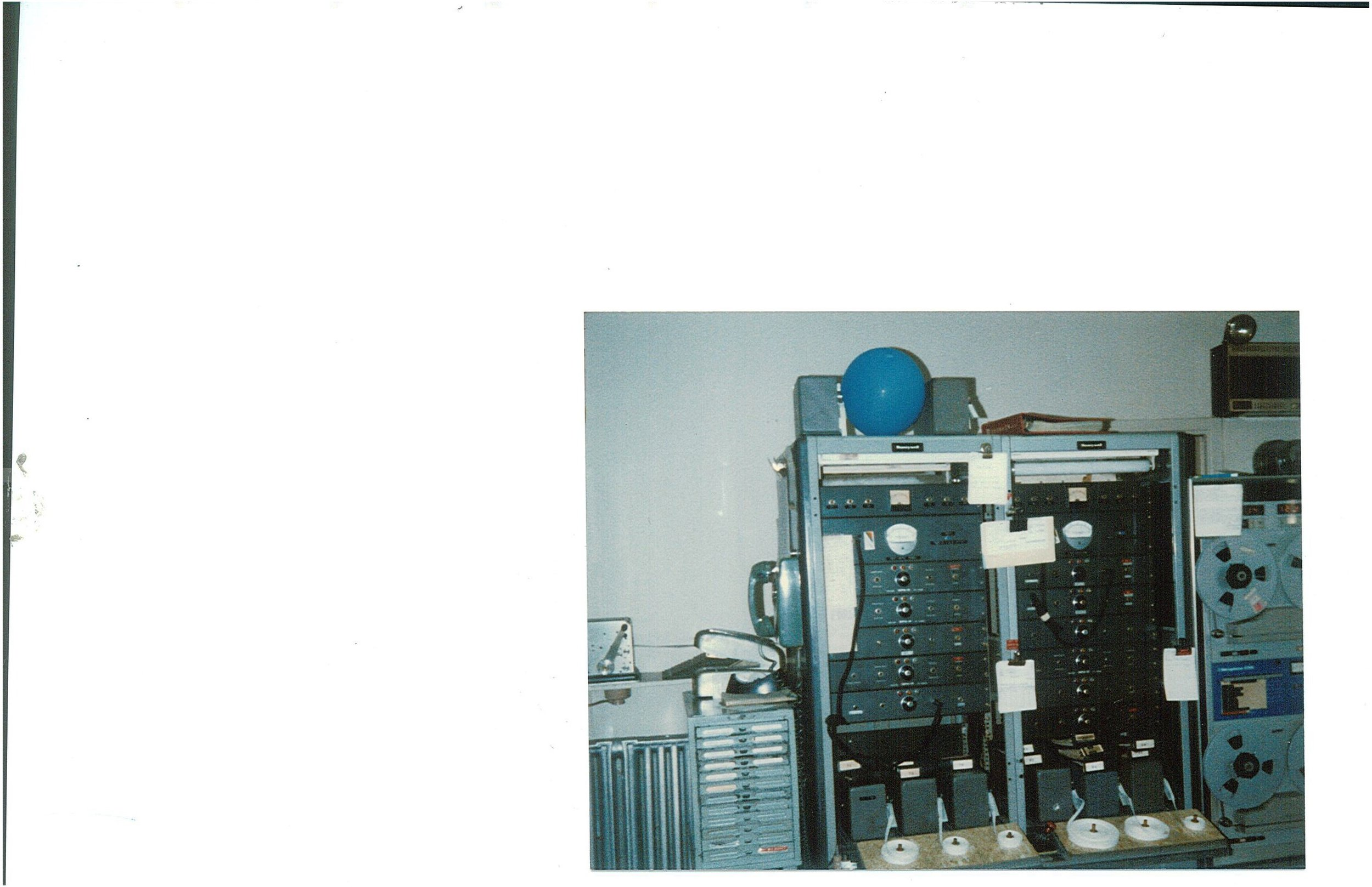 Potter Alarm Machine and Recorder 1986
