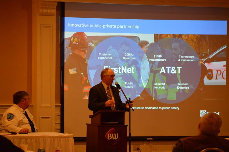 A presentation was given on FirstNet. 2018