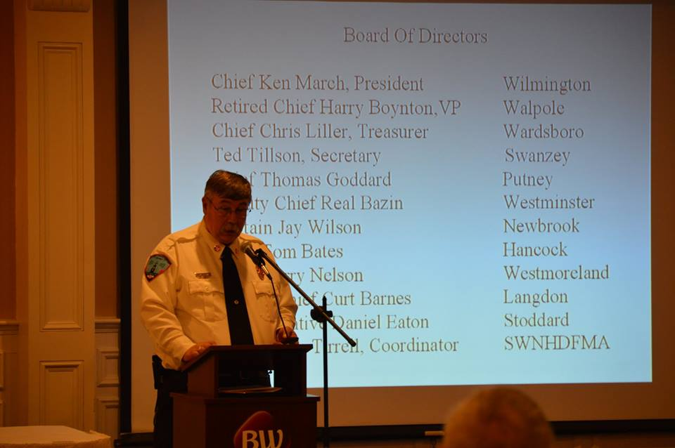 Chief Tirrell introduces the Board of Directors. 2018