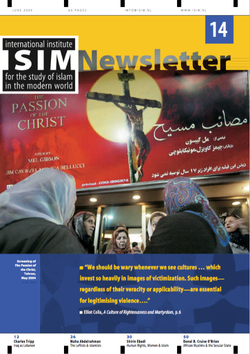 Dowes, D. and Herrera L. (Eds). (June 2004) Special issue on  Martyrdom .  ISIM Newsletter 14.  Leiden: International Institute for the Study of Islam in the Modern World (ISIM).