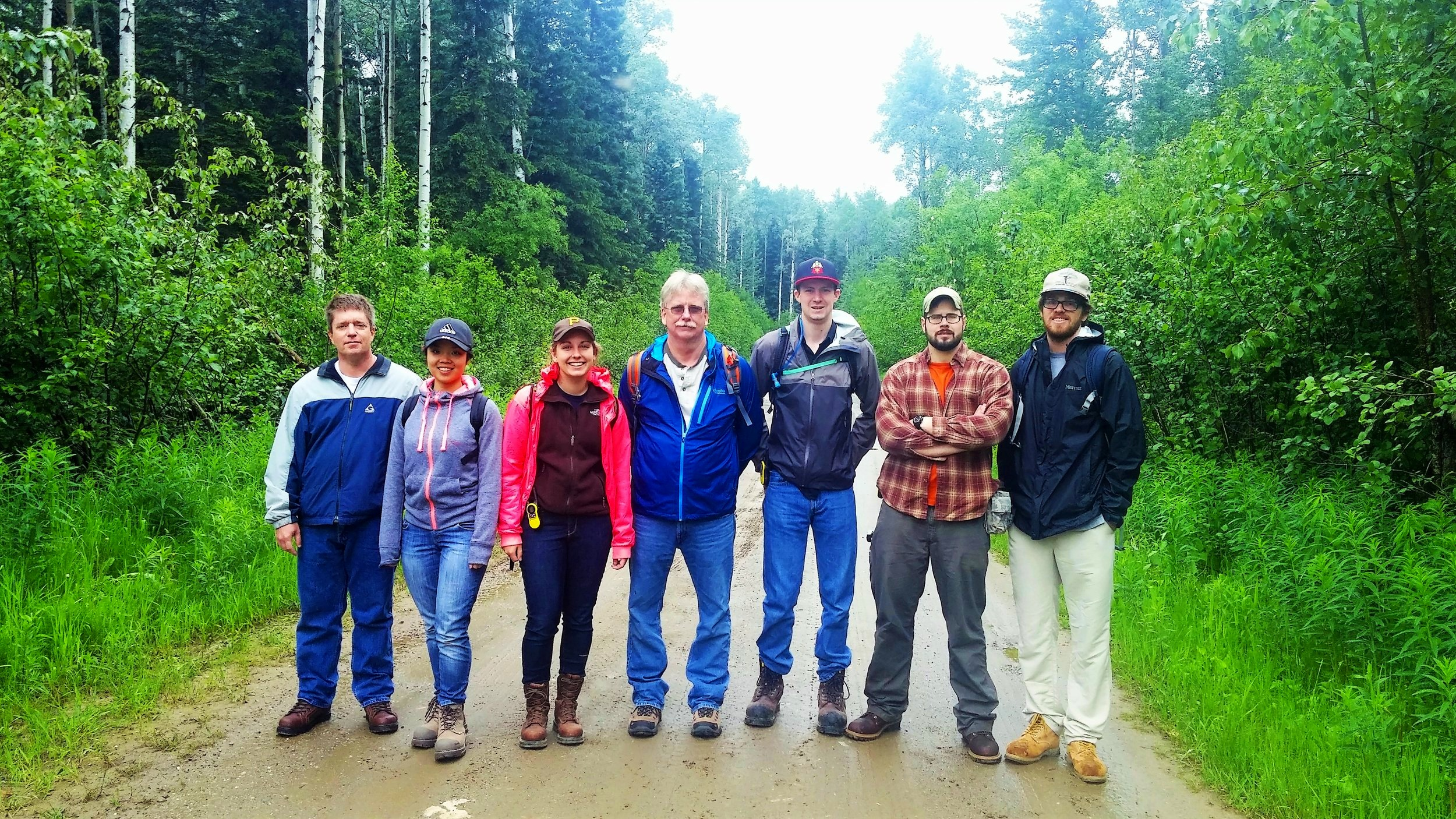 2016 Interns from: University of British Columbia, Virginia Tech, McGill University, University of Maine, and Colorado School of Mines