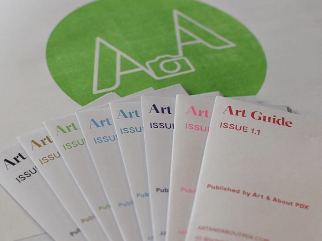 2/4 ART & ABOUT PDX ART GUIDE - I am very excited to share that I am a contributing artist to Art & About PDX's quarterly Art Guide. This is a great project for the artists involved and for the artists, work, shows and places that will be shared in the guides. There is currently a crowd funding campaign to raise funds to cover the cost of printing, materials and artists content. Check out more and donate or share by clicking the button below!