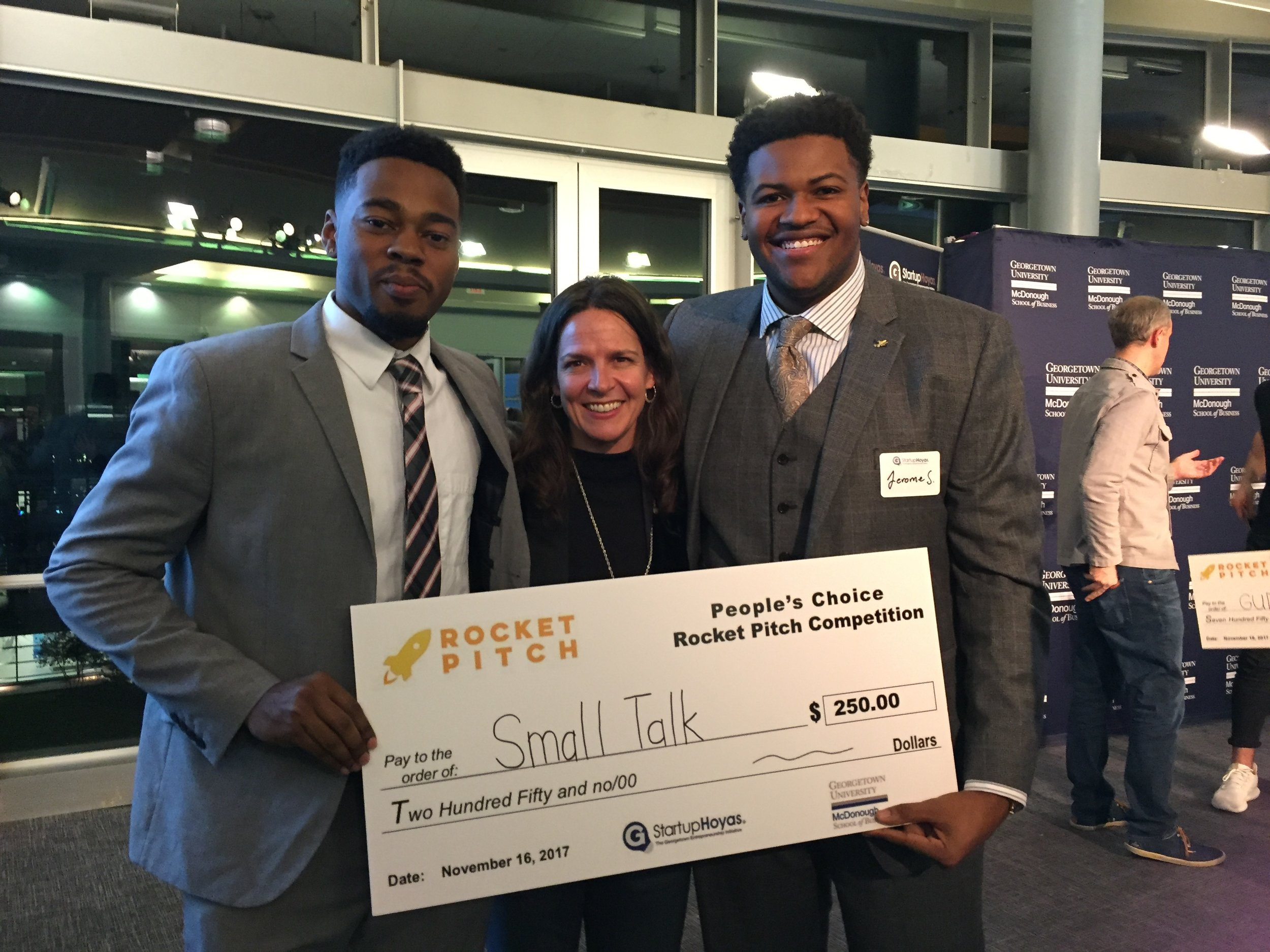 How to Create a Winning Pitch: What to Say, Show and Do - PowerPoint for Georgetown Entrepreneurs Competing in University Pitch Competitions