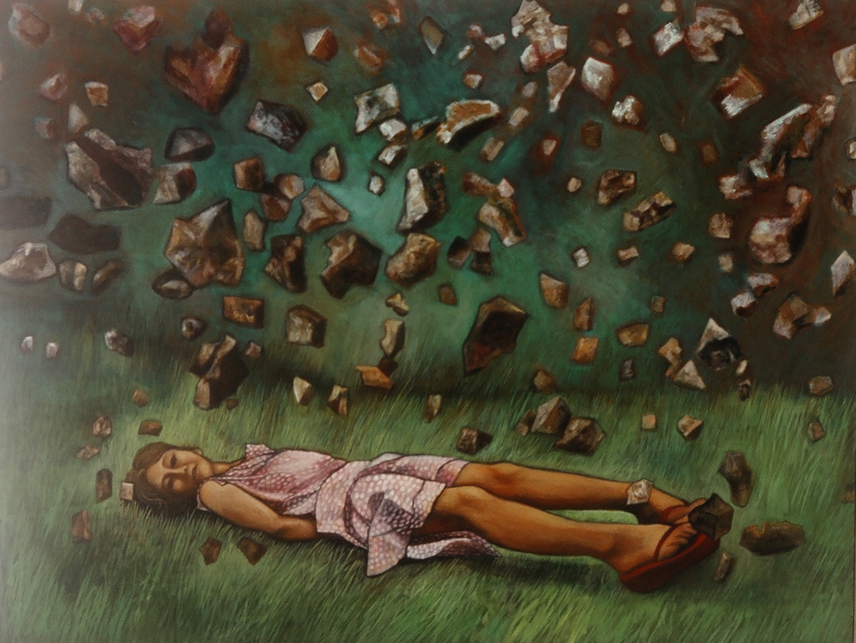 Girl Sleeps in Meteor Shower