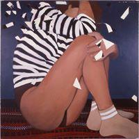 Striped Shirt, One