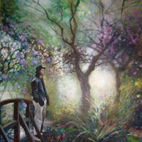 Craig in Monet's Garden