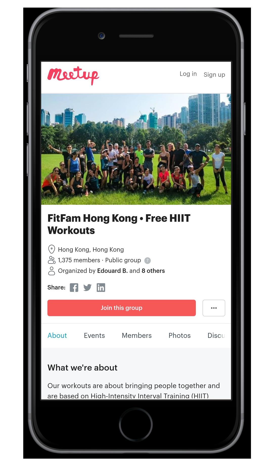 FitFam Hong Kong Meetup