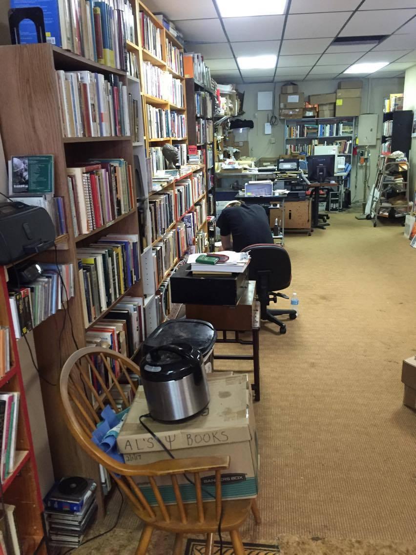 Cason at Glenwood Books