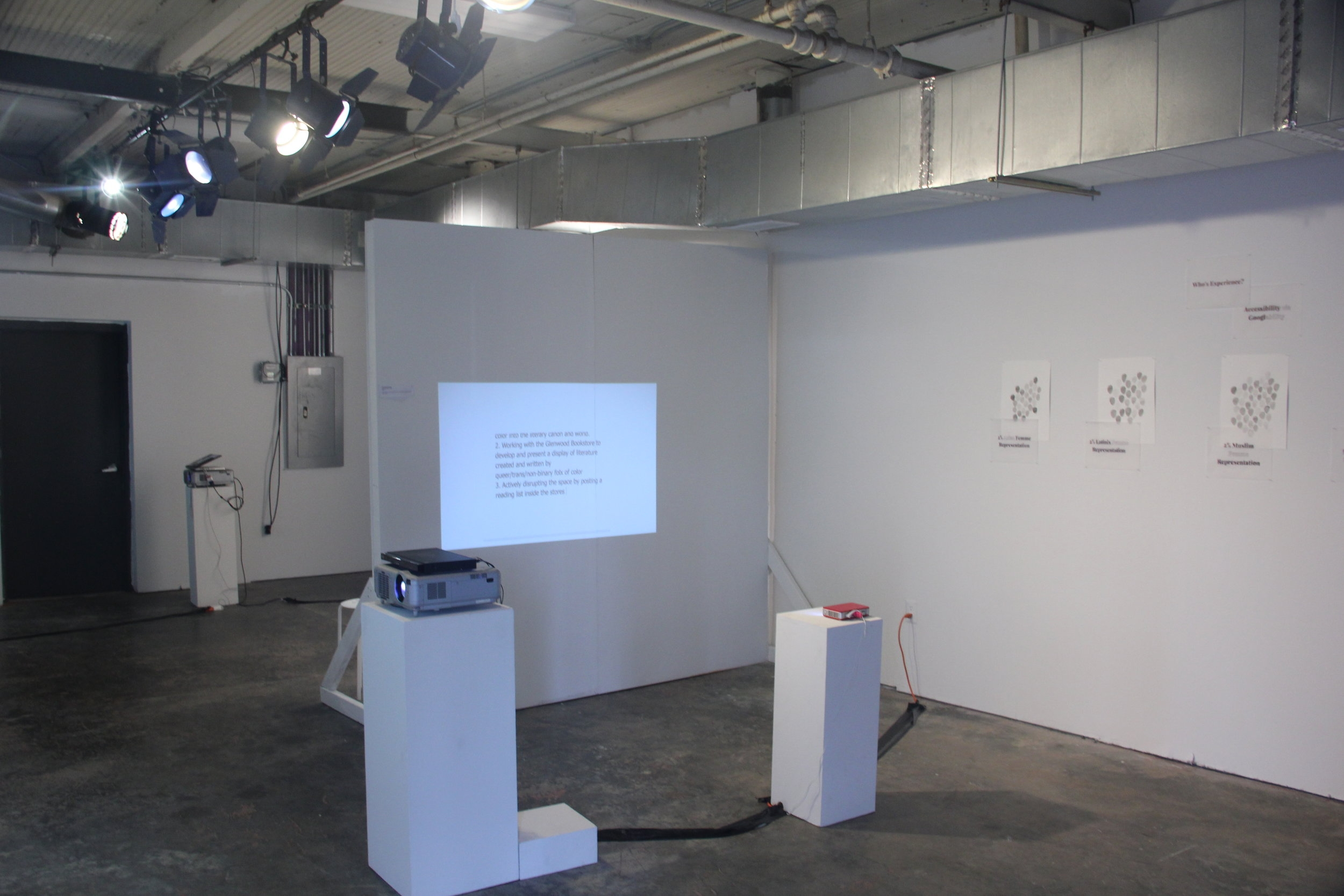 First Show at Greensboro Project Space