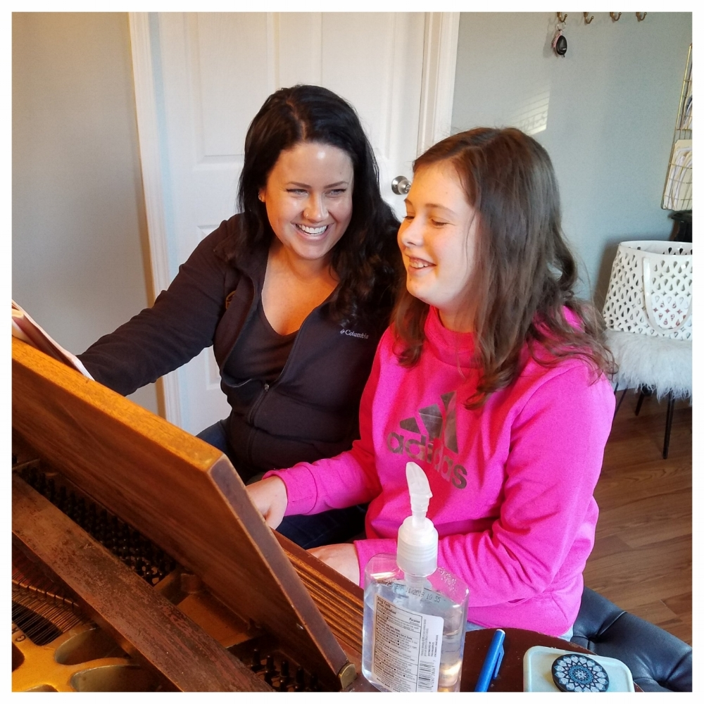 Piano Lessons - Our piano teachers have the absolute highest standards for learning in Greenbrier County. With training from Symphony Composers, World-Class Pianists and more, they teach a variety of styles from classical to popular music. Whether you want to learn Bach or Alicia Keys, our teachers are happy to help you become the pianist you want to be. Our piano faculty will show you not just the fundamentals of sight reading, technique and theory, but they will also incorporate ear-training, improvisation and much more, including your favorite songs, into your lessons. You do not have to have a piano at home to take lessons. A simple full size electronic keyboard will suffice for the first 6-12 months. Our piano teachers have warm personalities and enjoy sharing their love for the piano with you.