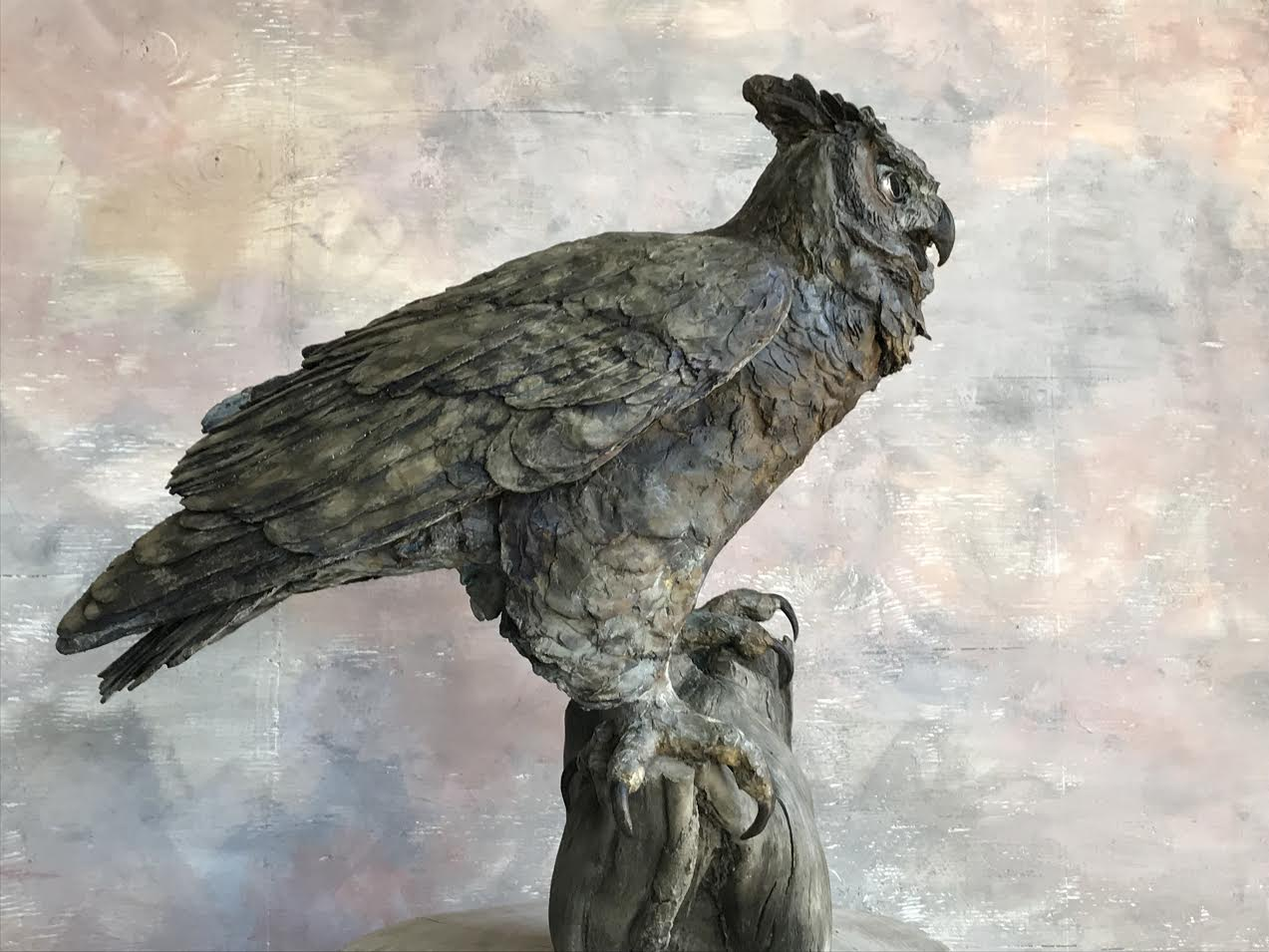 From Start to Finish: The Making of Big Al the Great Horned Owl - Vulture Sculpture brings her newest creation to life in this video capturing the process from wax to bronze