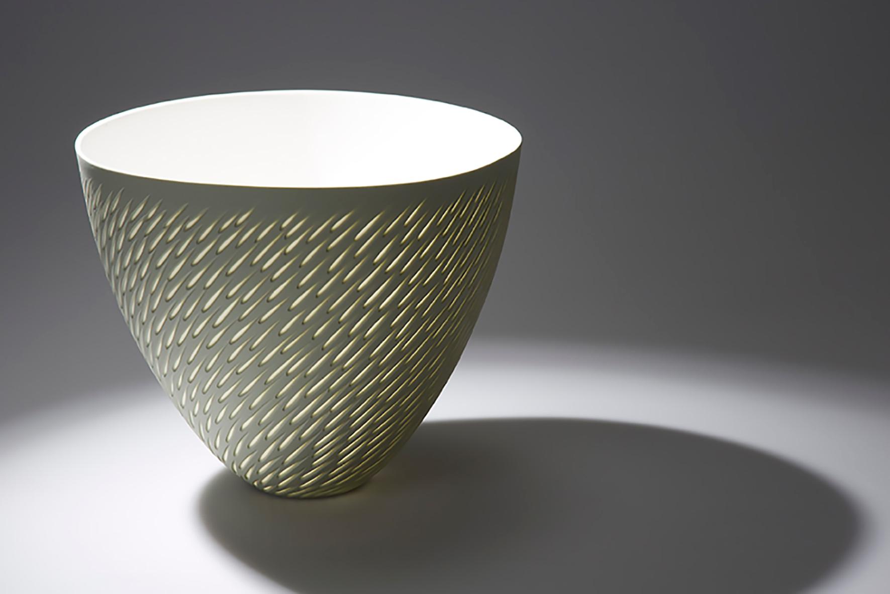 Olive Green, round rim - 28 cm h