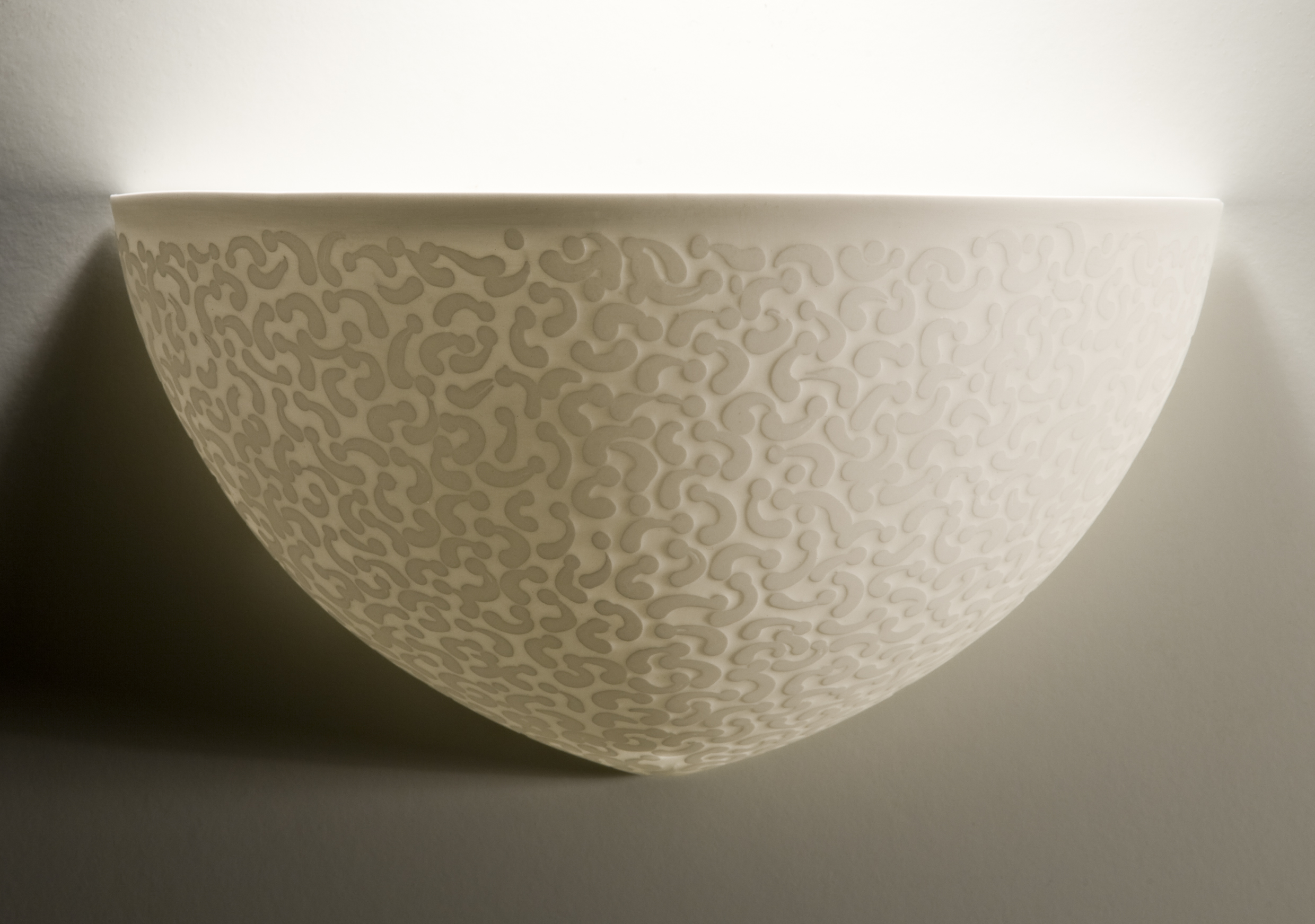 Coral 'Veil' Wall light - 25 cm w
