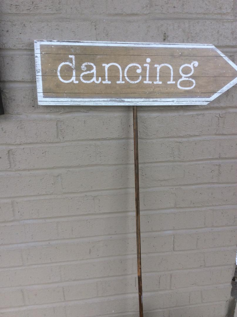 Dancing Yard Sign - Rental $10.00 each - 2 available