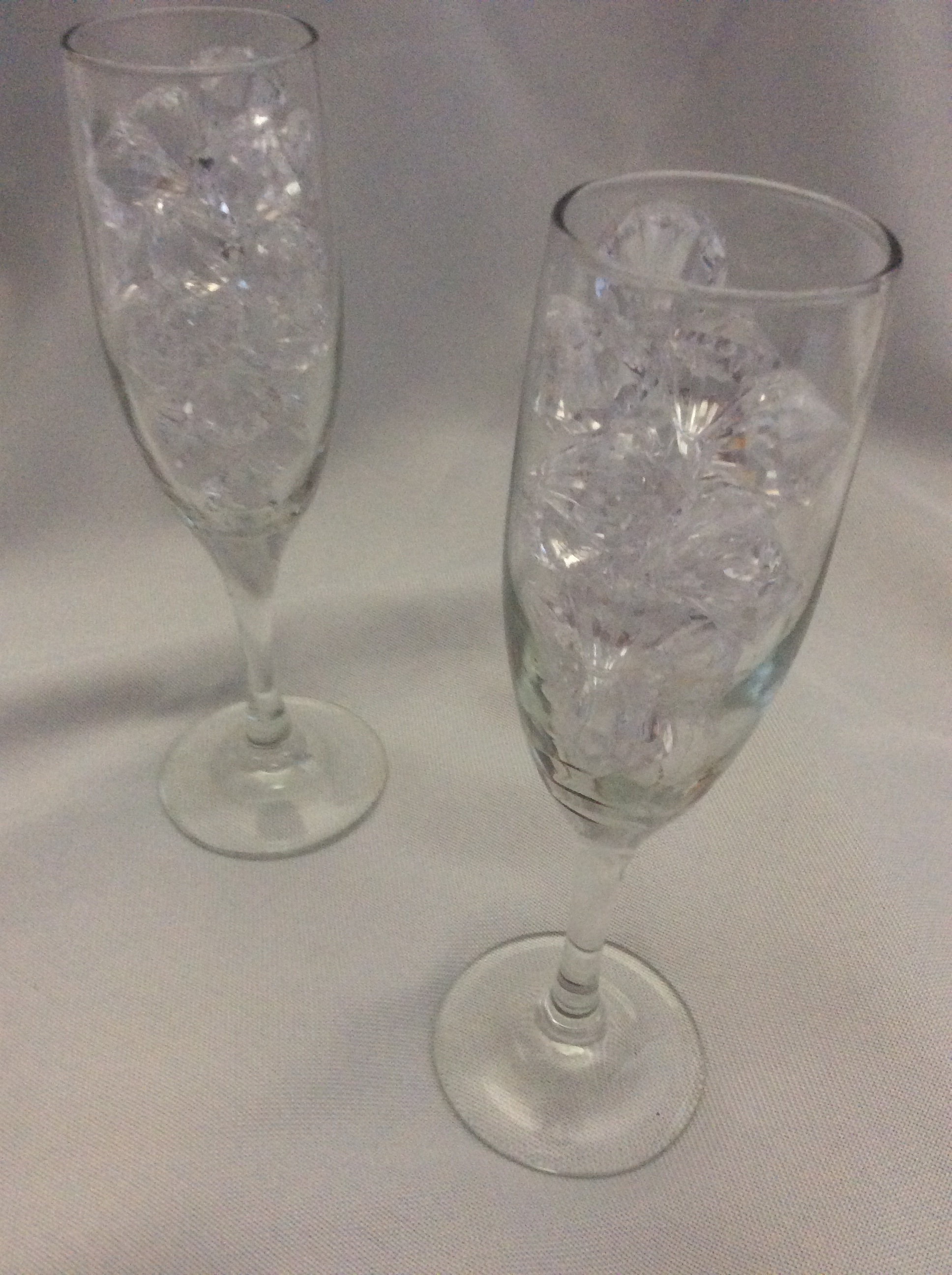 Champagne Flutes  - Rental $1.00 each - 20 available