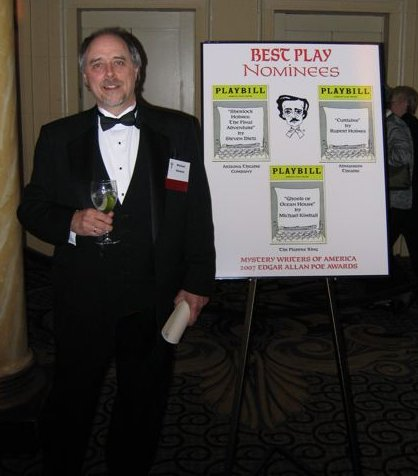 Michael Kimball, 2007 Edgar Award Nominee for Mystery Writers of America's 'Best Play'