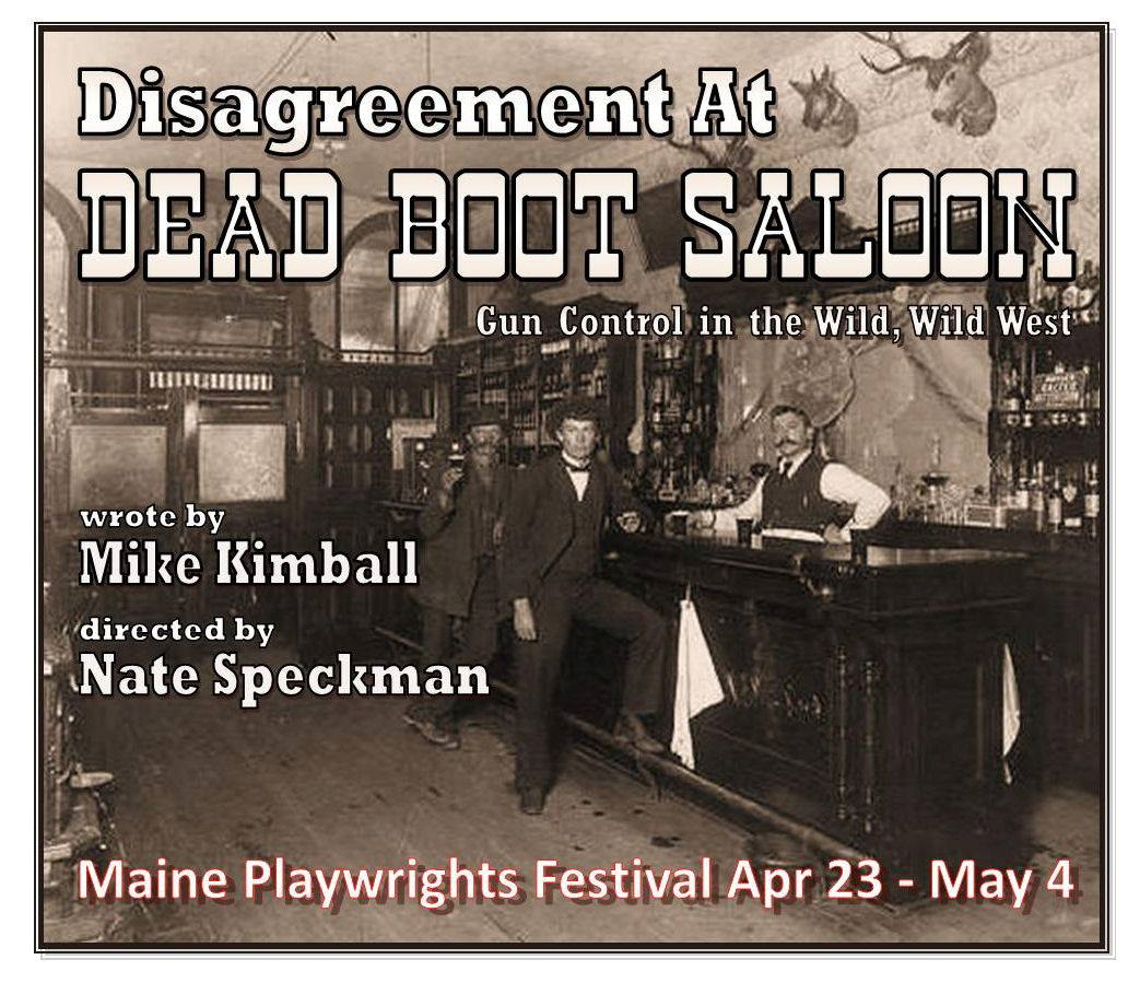Disagreement at Dead Boot Saloon  Gun control in the wild, wild west