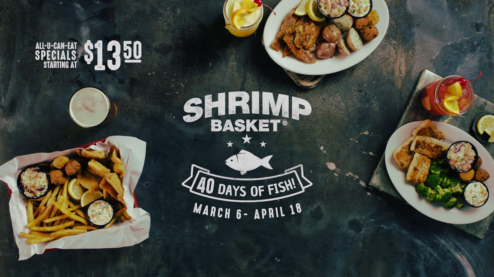 Shrimp Basket Newborn