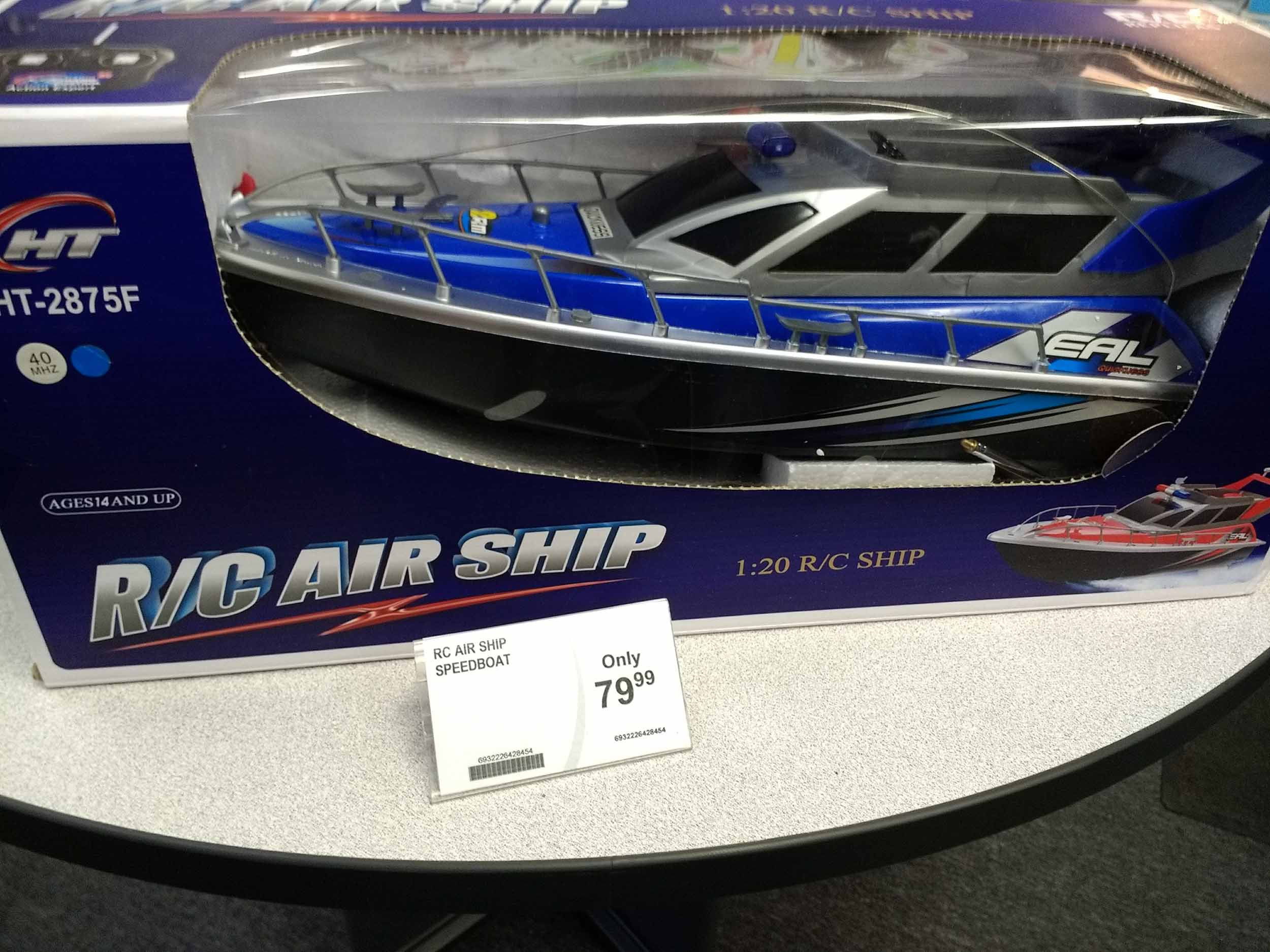 A radio controlled ship makes great entertainment for kids old and young.