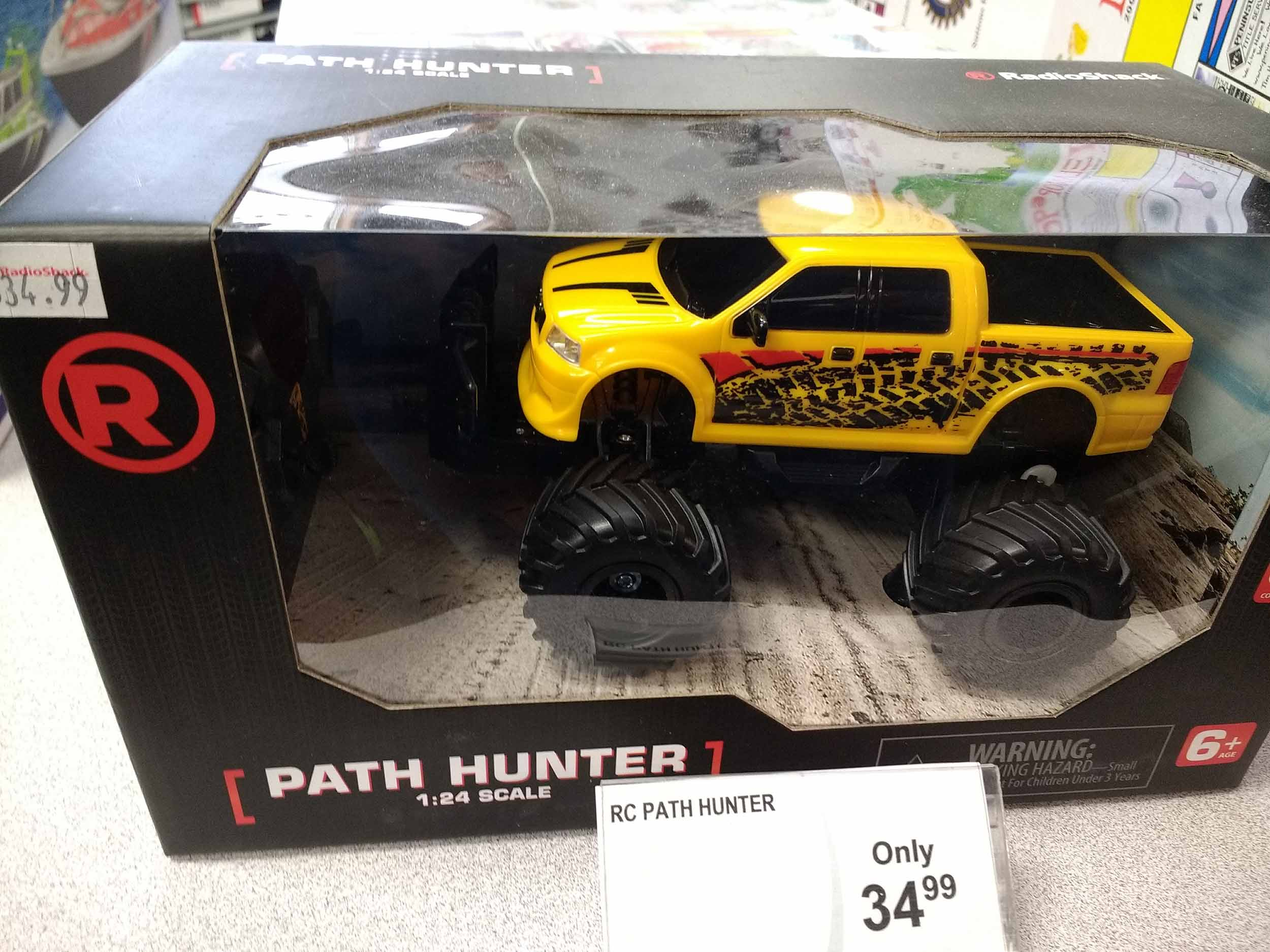 Enjoy the monster truck world with this radio control model.