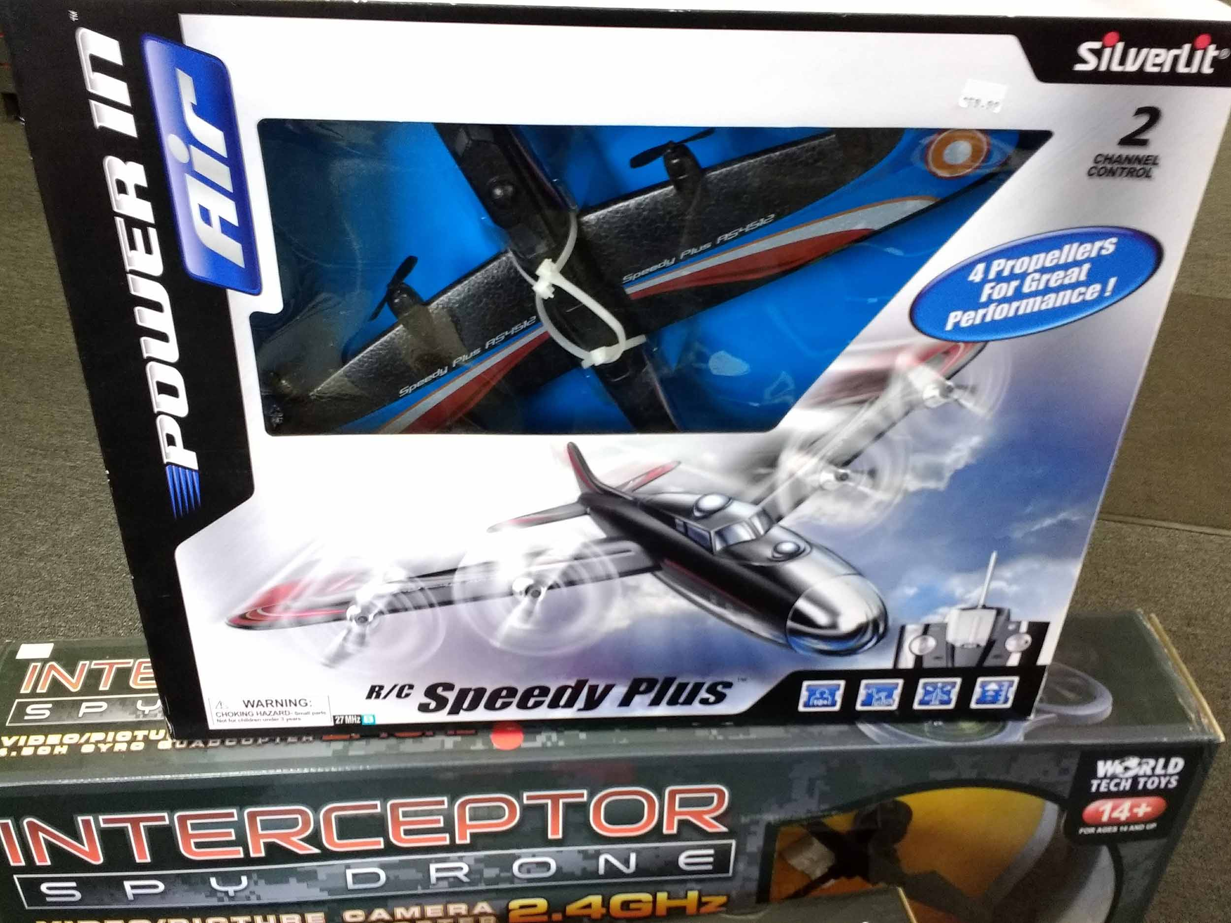 Radio control airplane for great outdoor fun.