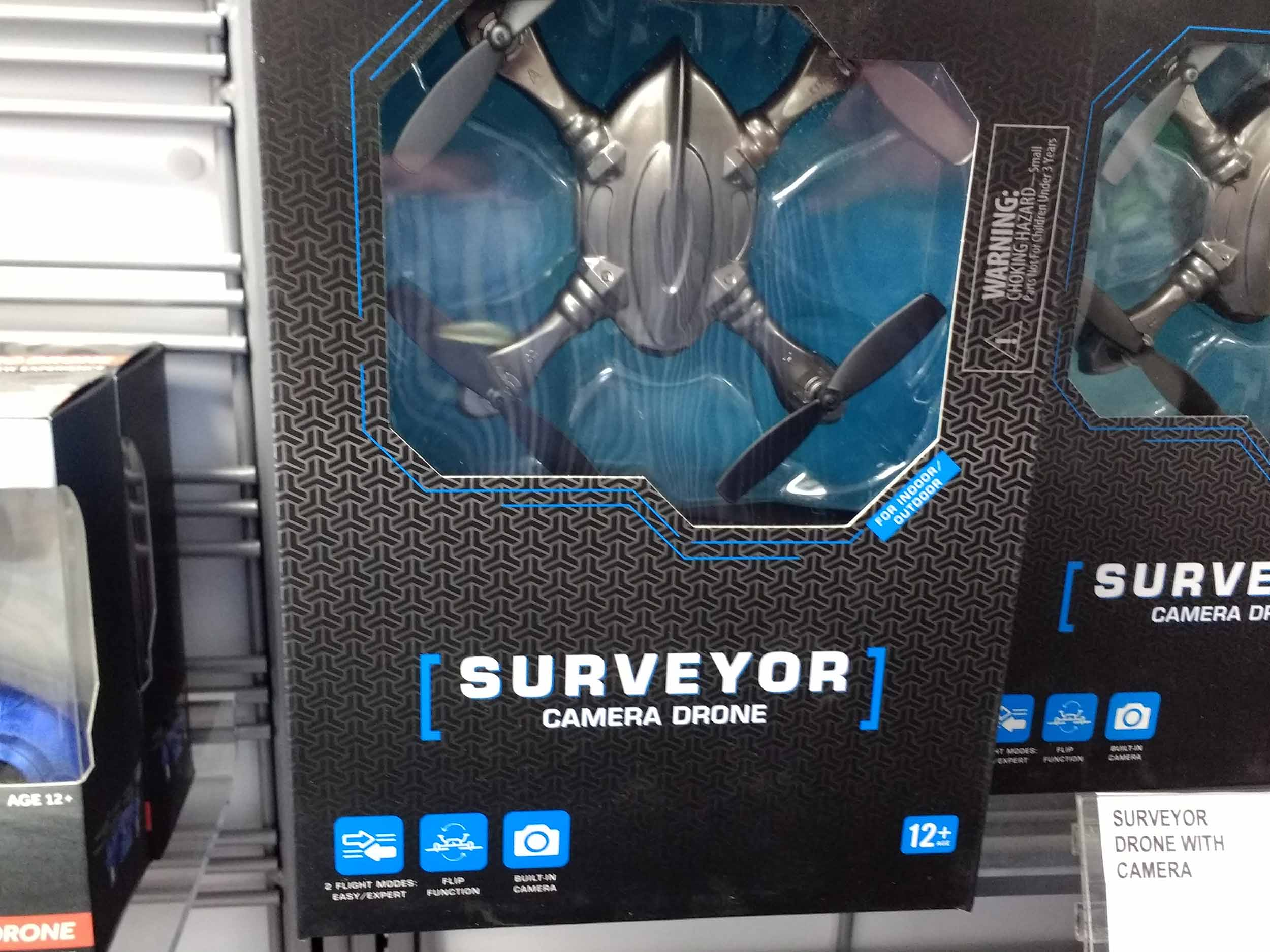 Surveyor camera drone couples flight with photo and video options.